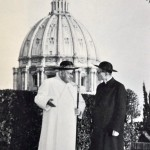 Papa Ioan al XXIII-lea și secretarul său Loris Capovilla