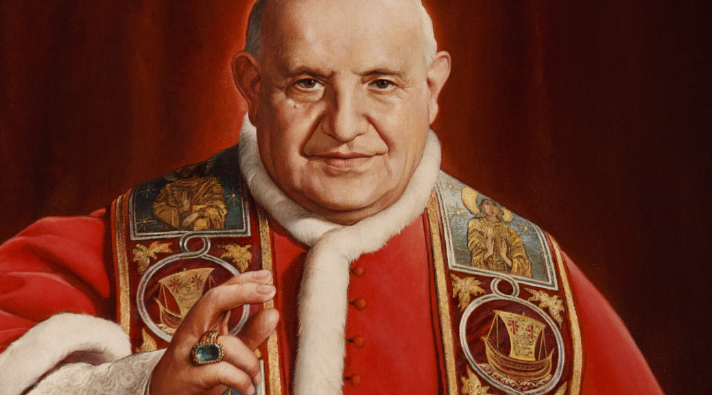 Painting of Blessed John XXIII hangs in museum in his Italian birthplace